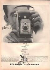 1954 Polaroid PRINT AD Land Camera Instant Photos Highlander