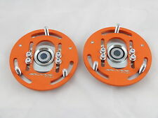 Camber Plates E30 3D true professionals Drift BMW for coilover - Domlager orange