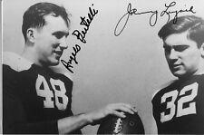 Angelo Bertelli and Johnny Lujack Signed photo COA R6/18 Choice of 2