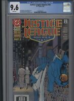 Justice League America #54 CGC 9.6 - of 1991 - Giffen DeMatteis