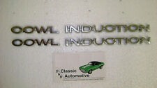 Cowl Induction Hood Emblem 4pc Chevelle El Camino *In Stock badges logo 70 71 72