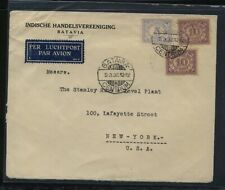 Netherlands  Indies  large cover to  US  1932         KL0724