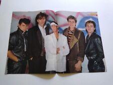 Duran Duran Cyndi Lauper The Twins Ronny Sven clippings Poster Germany Honda ad