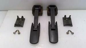 03-09 Hummer H2 External Hood Latches Locks (Set of 2) w/ Hardware OEM Factory