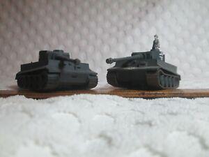2 ROCO Model German PZKW VI Tiger I Tanks HO Scale #11 Made in Austria DBGM nr