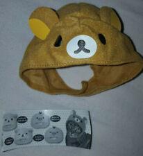 Rilakkuma Japanese Cat Hat Costume headwear Cosplay Capsule Toy Gashapon animal