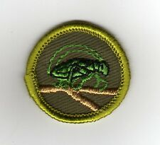 Insect Life Merit Badge, Type F Rolled Edge Khaki Twill (1961-68), Mint!