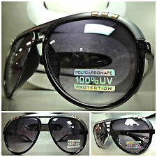 NEW Men Women CLASSIC VINTAGE RETRO Old School Style SUN GLASSES Dark Gray Frame
