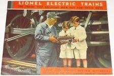 ORIGINAL 1931 LIONEL TRAIN CATALOG IN EXCELLENT CONDITION!