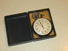 Soviet Russian USSR Stopwatch mechanical TWO-Button Working NEW 1980