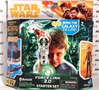 Star Wars Force Link 2.0 Starter Set, Force Link Wearable Technology w/ Han Solo