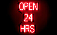 SpellBrite Ultra-Bright Open 24 Hrs Sign (Neon look, Led performance)