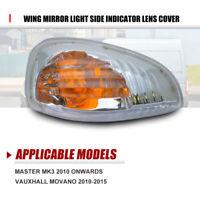 Renault Master Wing Mirror Light Side Indicator Lens Cover passenger Left Side #