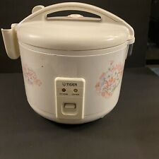 Tiger JNP-1500-FL 8-Cup Electronic Rice Cooker and Warmer Lovely Flower