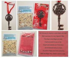 MAGIC SANTA KEY FREE POEM and Reindeer food No Chimney Christmas Eve Box