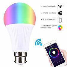 B22 WiFi LED Smart Bulb Remote Control App Support Alexa Google Home Amazon US