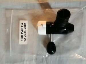 FBD 12-2944-2001 Valve Assembly, SDV II, S Handle Frozen Beverage Dispenser