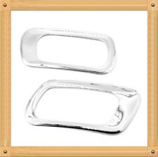 Chrome Muffler Tip Cover For 08-15 BMW 7 Series Only (F01-03)