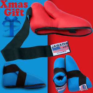UFC MMA Sparring Kick Boot Kickboxing Boxing Foot Guard Pad Boots Taekwondo Gear