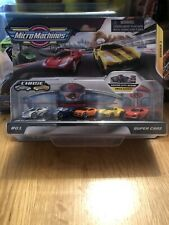 New Micro Machines Dealership SUPER CARS  5-pack Chrome Rare Chase PASO
