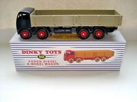 Atlas Dinky Supertoys No.901 Blue Foden 8 wheeled Wagon Mint / Boxed