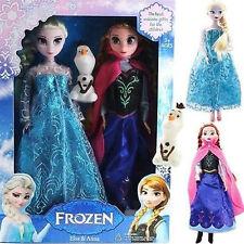 Eiskönigin  Und30cm 2 Prinzessin .Puppen Doll 1 Olaf sonderangebot::)*