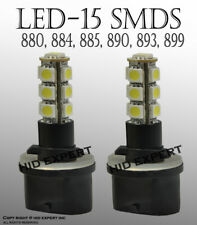 880/884/885/892/893/899 13 SMDs LED White Replace Halogen Fog Light Bulbs E125