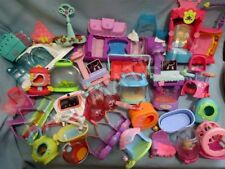 Littlest Pet Shop Lot of 3 RANDOM Large Accessories Carriers Bathtubs SURPRISE!