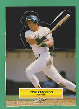 1988 Leaf All-Star Game Pop-Ups Jose Canseco Oakland Athletics (KCR)