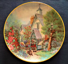 Franklin Mint Lillput lane The Gables Fine Porcelain Plate