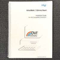1991 Intel ActionMedia II Delivery Board Installation Guide DVI Order 468479-001