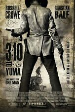 3:10 TO YUMA MOVIE POSTER SS Advance ORIGINAL 27x40 BEN FOSTER RUSSELL CROWE