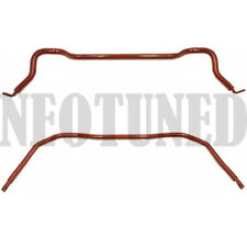 For 86-92 SUPRA MARK III MA70 7MGTE JZA70 RED FRONT REAR SWAY BAR SUSPENSION KIT