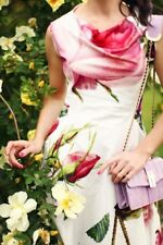 Vivienne Westwood Antoinette Botanique Floral Dress 42 UK 10 Mariage Noël