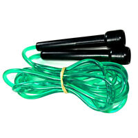 SPEED SKIPPING JUMP ROPE PINK 2.8MTR BOXING CARDIO MMA SPORT FOR UNISEX GREEN