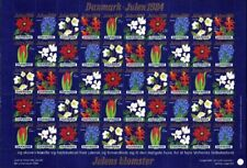 Christmas Denmark Beautiful Flowers Sheet MNH 1994