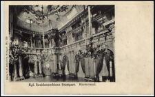 STUTTGART ~1910/20 Residenz Schloss Verlag Autenrieth alte Postkarte