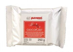 Modellier Schokolade 250 gramm rot
