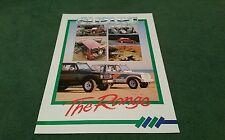 SUZUKI RANGE June 1987 UK UNFOLDED BROCHURE Alto Swift GTi SJ 410 Santana 413 ds