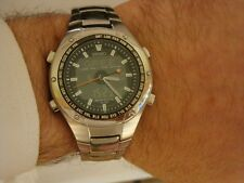 Seiko Sportura Digital Analogue SNJ001 - H023-00A0 Rare Gents watch. Chronograph