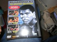 Muhammad Ali - The Greatest Collection - DVD - VERY GOOD FREE SHIPPING
