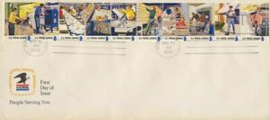 USA 1973 USPS strip - FDC addressed @D826L