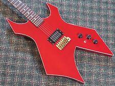 Vintage 1983 BC Rich USA Warlock II Guitar! RARE! Red! 2! w/case