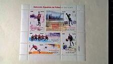 ESPAÑA 2011 MINI PLIEGO SELECCION ESPAÑOLA FUTBOL  NUEVO -MIRA MI TIENDA