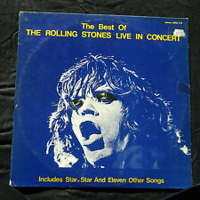 The Rolling Stones - Live In Concert From 1971 Through 1975  - NON OFFICAL-LP