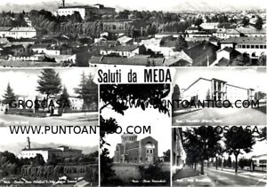 MEDA - COD.C676 - (MILANO) - VIAGGIATA 1958 - CARTOLINA