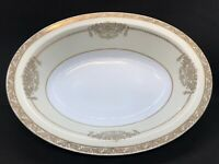 "NORITAKE FINE CHINA Oval Vegetable Serving Bowl - 10"" Bancroft 5481 Vintage"