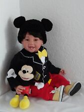 "Reborn Child Friendly 22"" Toddler Boy  Doll ""Mason and Mickey"""