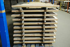 Job lot of 10 reclaimed vintage rustic table top wooden board 120cm x 70cm