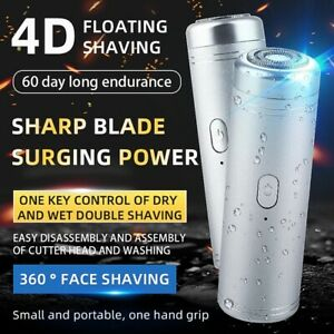 For Men Face Razors Beard Mini Portable Car Electric Shaver smart Fast Charging